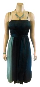 Max and Cleo P621 & Size 4 Mid Calf Silk Sleeveless Dress
