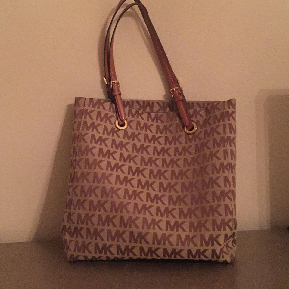 purchase newest bottom price real deal C-1206 Brown/Tan Tote
