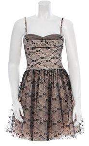 RED Valentino Couture Formal Lace Holiday Dress