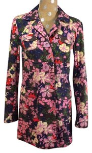 Tara Jarmon for Target Trench Floral Multi Jacket