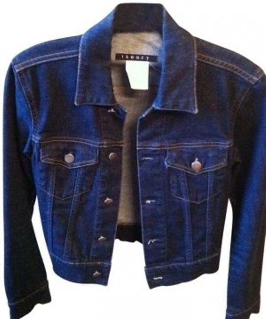 Preload https://item2.tradesy.com/images/theory-dark-blue-short-jean-with-silver-buttons-that-denim-jacket-size-0-xs-10001-0-0.jpg?width=400&height=650