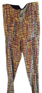 Roberto Cavalli Relaxed Pants Multicolor