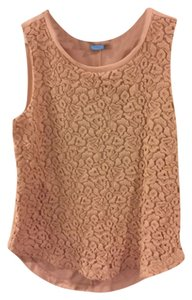 Ann Taylor LOFT Maternity Lace Front Shell