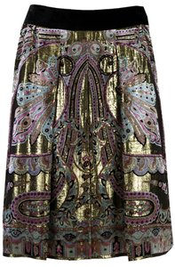 Etro Skirt Black/Multi