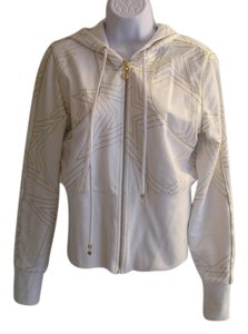 bebe white gold Jacket