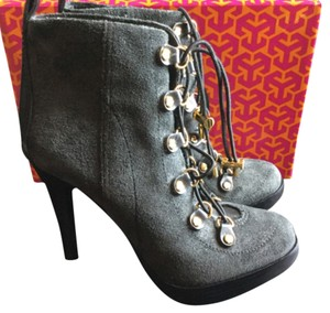 Tory Burch Bootie Fall Charcoal Grey Boots