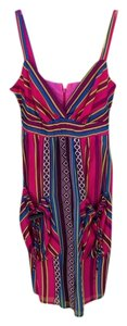 Voom by Joy Han short dress Pink, Purple, Teal, White, Lime on Tradesy