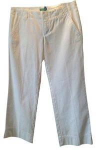 Lilly Pulitzer Designer Stylish Capris White