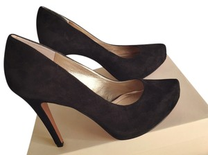 BCBGeneration Bcbg Platform Black Black/Kid Suede Pumps