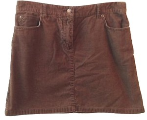 J.Crew Corduroy Mini Skirt BROWN