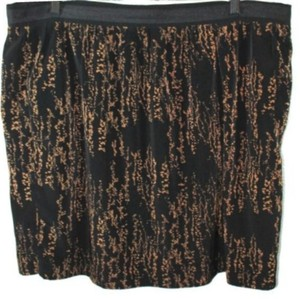 Gap Skirt BROWN/BLACK