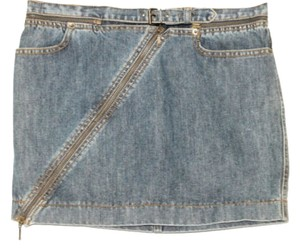 Plein Sud Jeans Denim Mini Skirt BLUE