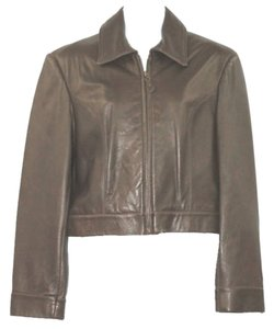 LT SPORT Leather BROWN Leather Jacket