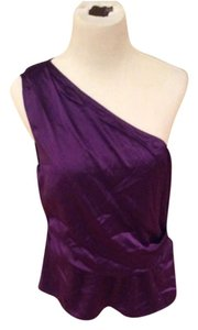 Elie Tahari Top Purple (dark)