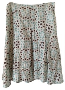 Banana Republic Snowflake Skirt Multi