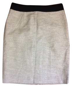 Banana Republic Pencil Tweed Skirt Black & white