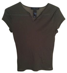 Kenneth Cole Mesh Top Green