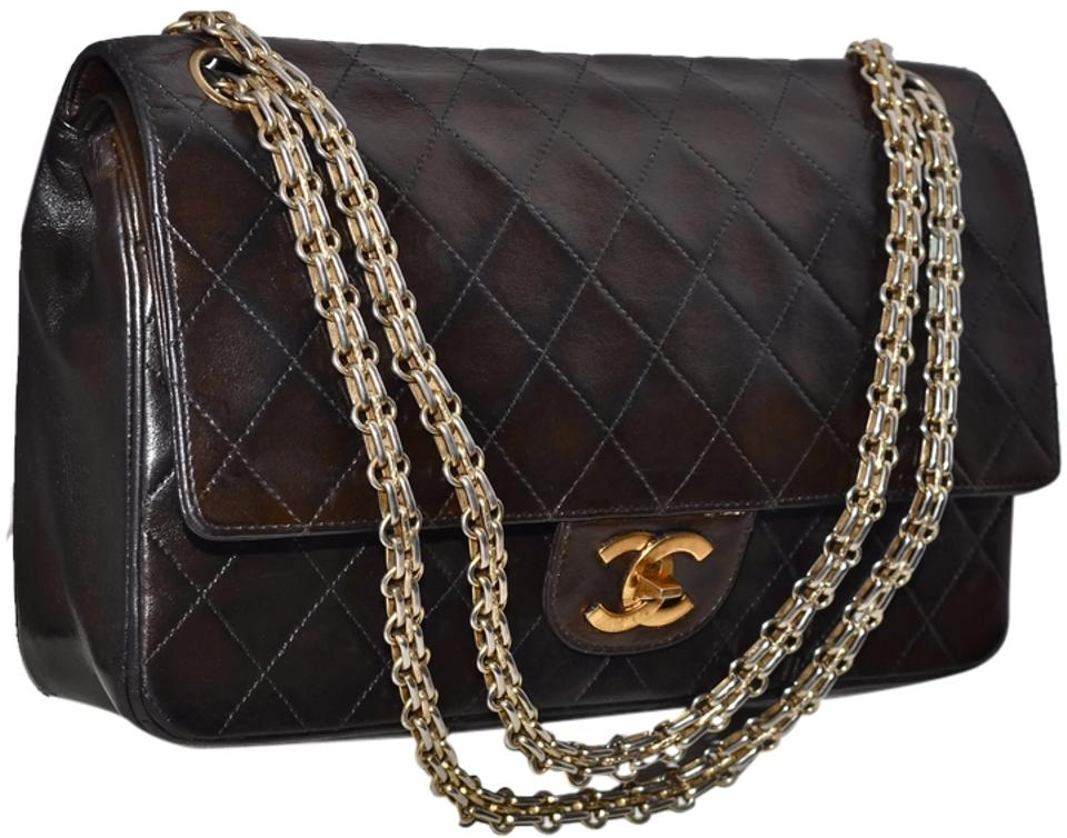 946a126702dc46 Chanel Double Flap Paris Quilted Lambskin 10