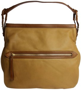 Tumi Nubuck Soft Leather Hobo Bag