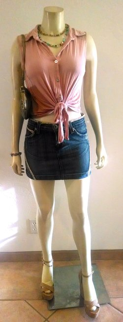 Other P625 Street Size 2 Skirt DENIM