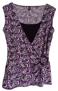 Jason Maxwell Top Black and violet
