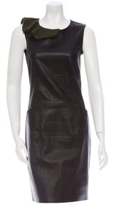 Fendi Leather Dress