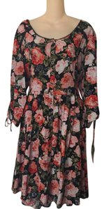 Feathers short dress Floral on Tradesy