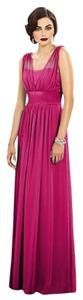 Dessy Full Length Chiffon Dress
