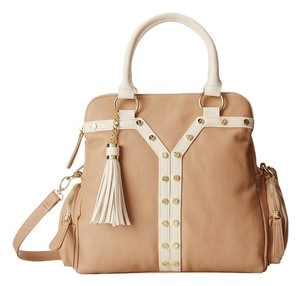 Big Buddha Satchel in Taupe