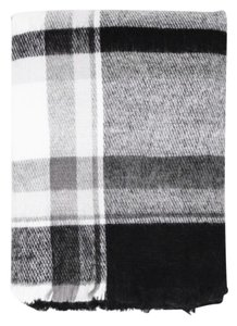 Zara Checkered Plaid Blanket Scarf