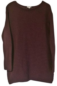 J. Jill Wool Silk Scoop Neck Sweater