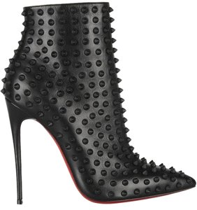 Christian Louboutin Spike Black Boots