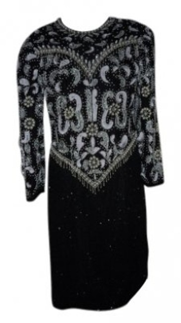 Scala Beaded & Sequined Dress