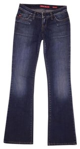 Miss Sixty Boot Cut Jeans-Dark Rinse