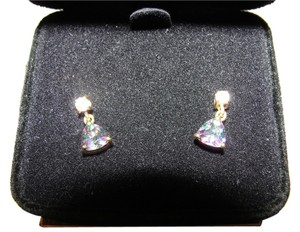 Dazzling Mystic Opal Earrings in Vermeil
