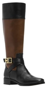 Michael Kors Mocha and Saddle Boots