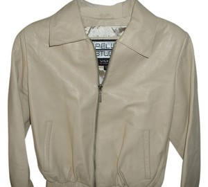 Wilsons Leather cream Leather Jacket