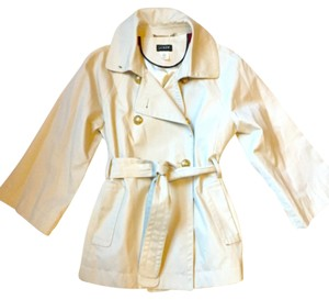 J.Crew Spring Trench Coat Double Breasted Preppy Khaki Jacket