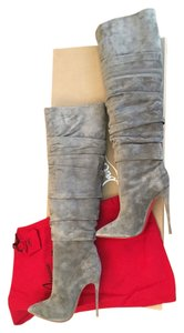 Christian Louboutin Suede grey Boots