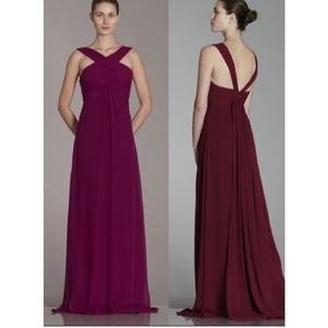 Monique Lhuillier Bordeaux Dress