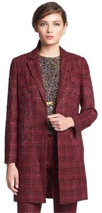 Tory Burch Tweed Jacket Trench Coat
