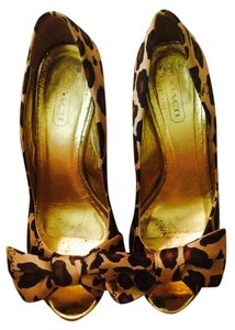 Coach Ocelot lepard Pumps