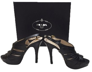 Prada Black Platforms