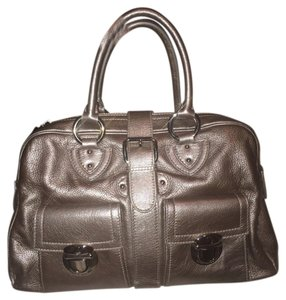 Marc Jacobs Satchel in Metallic/silver