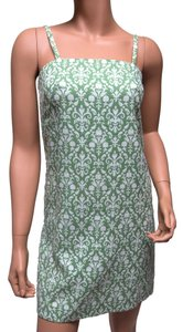 Cynthia Rowley short dress Green Jacquard Shift on Tradesy