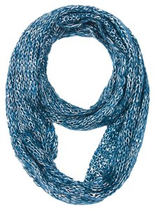 Knitted Infinity Scarf - Teal