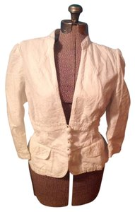 Banana Republic Buttons White Jacket