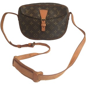 Louis Vuitton Jeune Fille Jeune Fille Monogram Canvas Cross Body Bag