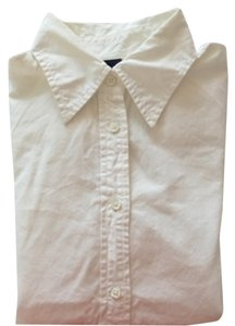Gap Button Down Shirt White