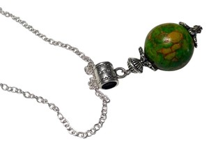 Other Sea Sediment Jasper stone Necklace Sterling silver N117